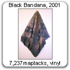 Black Bandana by Devorah Sperber, 2001