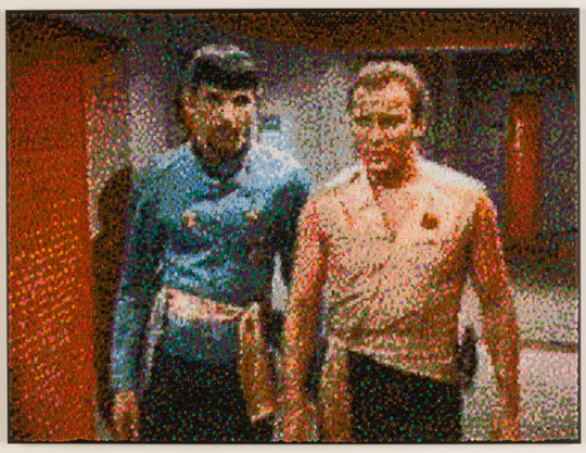 Spock and Kirk (Terror must be maintained...), by Devorah Sperber, New York