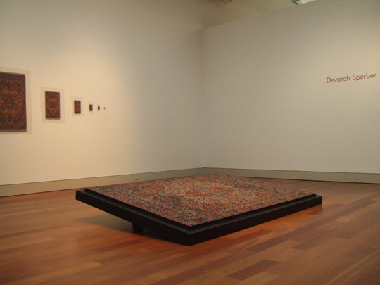 Floored, Works by Devorah Sperber, Cameron Art Museum, Wilmington, NC, 2007