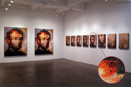 Devorah Sperber, Solo Exhibition at McKenzie Fine Art, New York, NY 2004