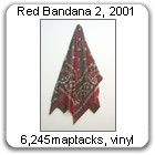 Red Bandana 2 by Devorah Sperber, 2001