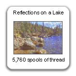Reflections on a Lake, 1999, by Devorah Sperber