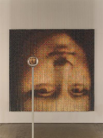 Картины из катушек ниток, Devorah Sperber