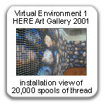 Virtual Environment 1, 2001, by Devorah Sperber